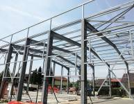 Metal Construction of Production Hall