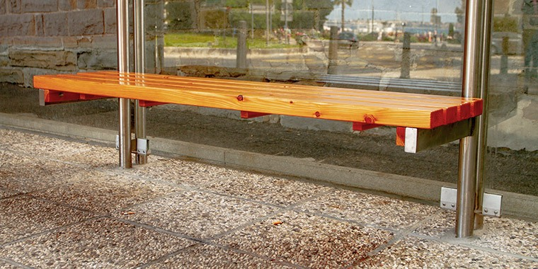 Additional Equipment for Bus Stops