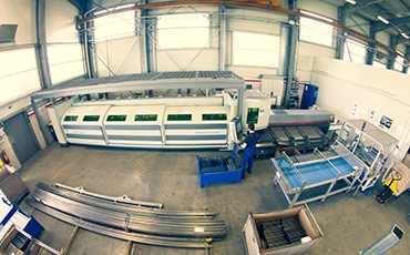 Laser Tube Cutting with Fibre Technology